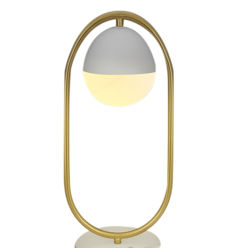 Smart Bedside Lamp Intelligent Moon Table Lamp Night Light Color Changing Desk Lamps Controlled By Voice/App Dimmable Timer Fe Desk Lamps     - title=