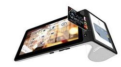 Android NFC QR Code GPRS Touchscreen POS-Terminal