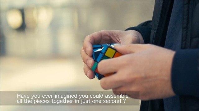 MAGIKUB Magic Tricks Puzzle Magician Close Up Gimmick Props Illusion Mentalism Funny Cube Instant Restore Magia