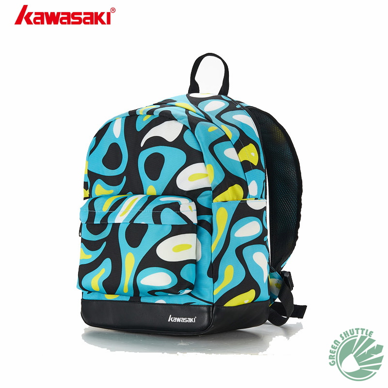 Image 4 - 2019 New Kawasaki Mountaineering Travel Bag Badminton  Double Shoulder Backpack Student  Both Boys And Girls kbb 8208 8207-in Racquet Sport Bags from Sports & Entertainment