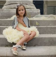 1-6 years Girl Tutu Clothing Sets Sleevess dress Party wear Princess Dance Girl tutu sets