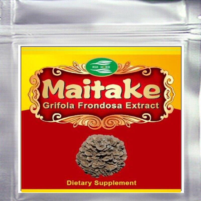 10.6oz (300g) Grifola Frondosa Maitake Extract 30% Polysaccharide Powder free shipping 1pack 100% natural pleurotus ferulae extract powder 30% polysaccharide 500mb x 300caps enhance the bodys immune