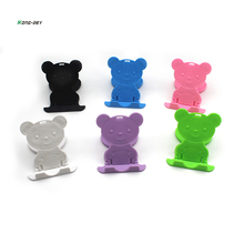 KONG-REY Folding Table cell phone support Plastic holder des