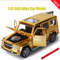 New 1:32 Toy Car G65 SUV Metal Alloy Diecast Car Model Miniature Scale Model Sound and Light Electric Car Toys For Childre