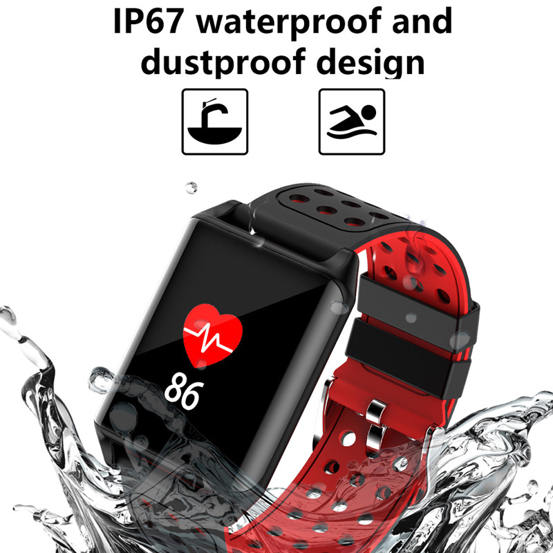 Hot sale R11 Smart Bracelet Heart Rate Blood Pressure Monitor Swimming Curved Screen Smartband Wristband Watch Sports Smartwatch