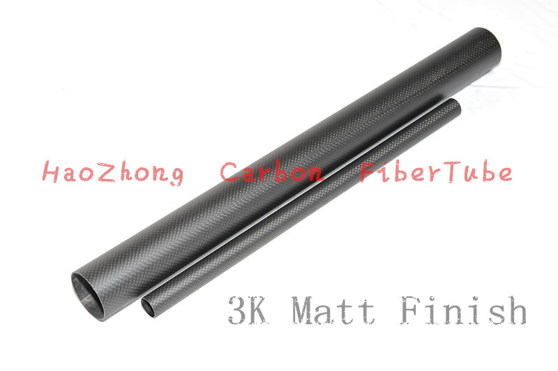 1 10 pcs 32MM OD X 29MM ID X 1000MM Carbon fiber tube tubing tail tube