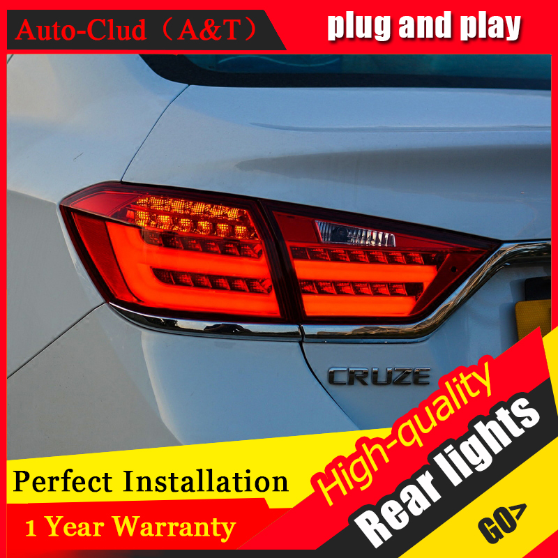 Car Styling LED Tail Lamp for Chevrolet Cruze Tail Lights 2015-2016 for Cruze Rear Light DRL+Turn Signal+Brake+Reverse LED light
