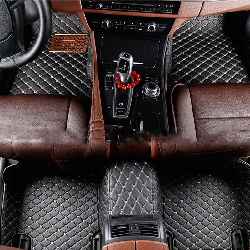 car floor mats Custom floor mats for Volkswagen All Models passat polo golf tiguan jetta touran touareg styling auto floor mats