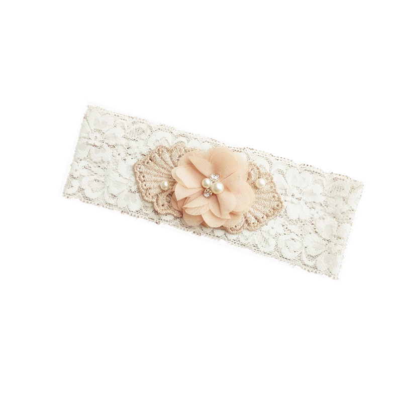 1 pcs wedding garter white bridal lace garter chiffon flower toss garter included vintage inspired lace