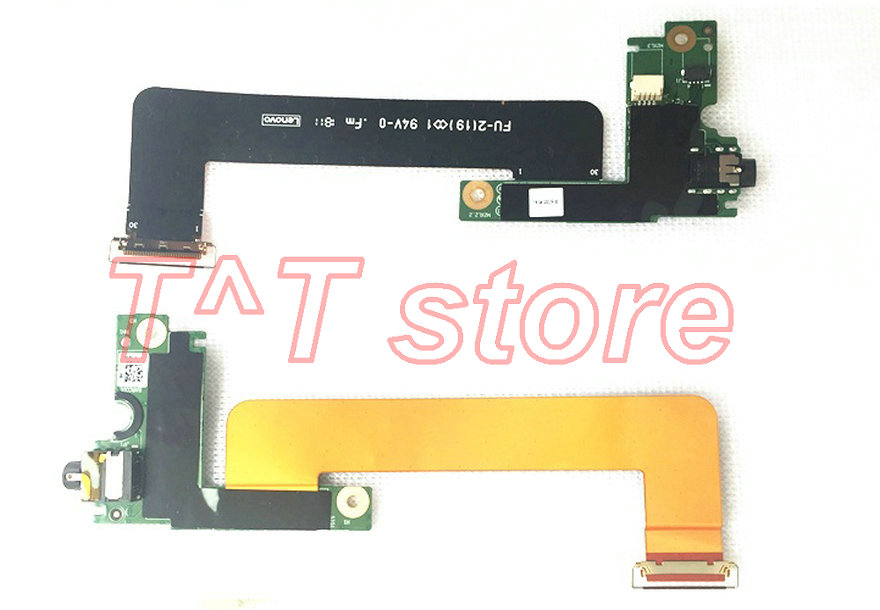 original for Thinkpad X1 carbon 5th 2017 audio board with cable test good free shipping цена