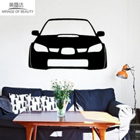 2 X Desirable Cars WRX STI Hawkeye Fashionable Life Car Sticker for Wall Motorhome Truck Window Door Kayak Vinyl Decal