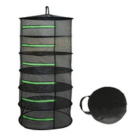 Non toxic Net Folding Practical Insect Proof With Zipper Mesh Decoration For Plants Home Bag Hanging Basket Herb Drying Rack