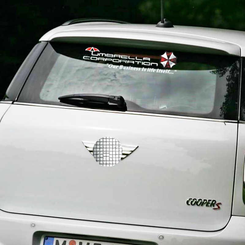 Volkrays 車のステッカーアクセサリーアンブレラ社リアウインドシールフォルクスワーゲンポロゴルフアウディフォーカス日産トヨタ