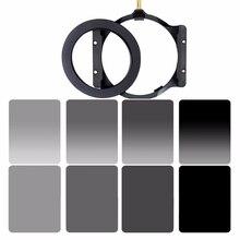 Lopen Manier 150*100 Mm Vierkante Filter Set Kit Nd Neutral Density ND2 ND4 ND8 ND16 Camera Filter Houder & Adapter Ring Voor Cokin Z
