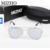 Mizho moldura de aço inoxidável de alta qualidade polaroid eyewear revo hd mulheres clássicos óculos de sol dos homens polarizados espelhar luxo piloto vermelho
