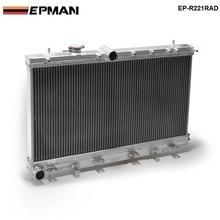 50 мм 2 Ряд алюминиевый радиатор для Subaru Impreza Wrx STI GDB GD8 MT 02-07 03 04 05 06 EP-R221RAD