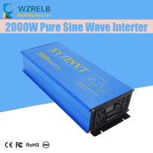 цена на Reliable Pure Sine Wave Inverter UPS and charging function 2000W outdoor home frequency inverter with charger
