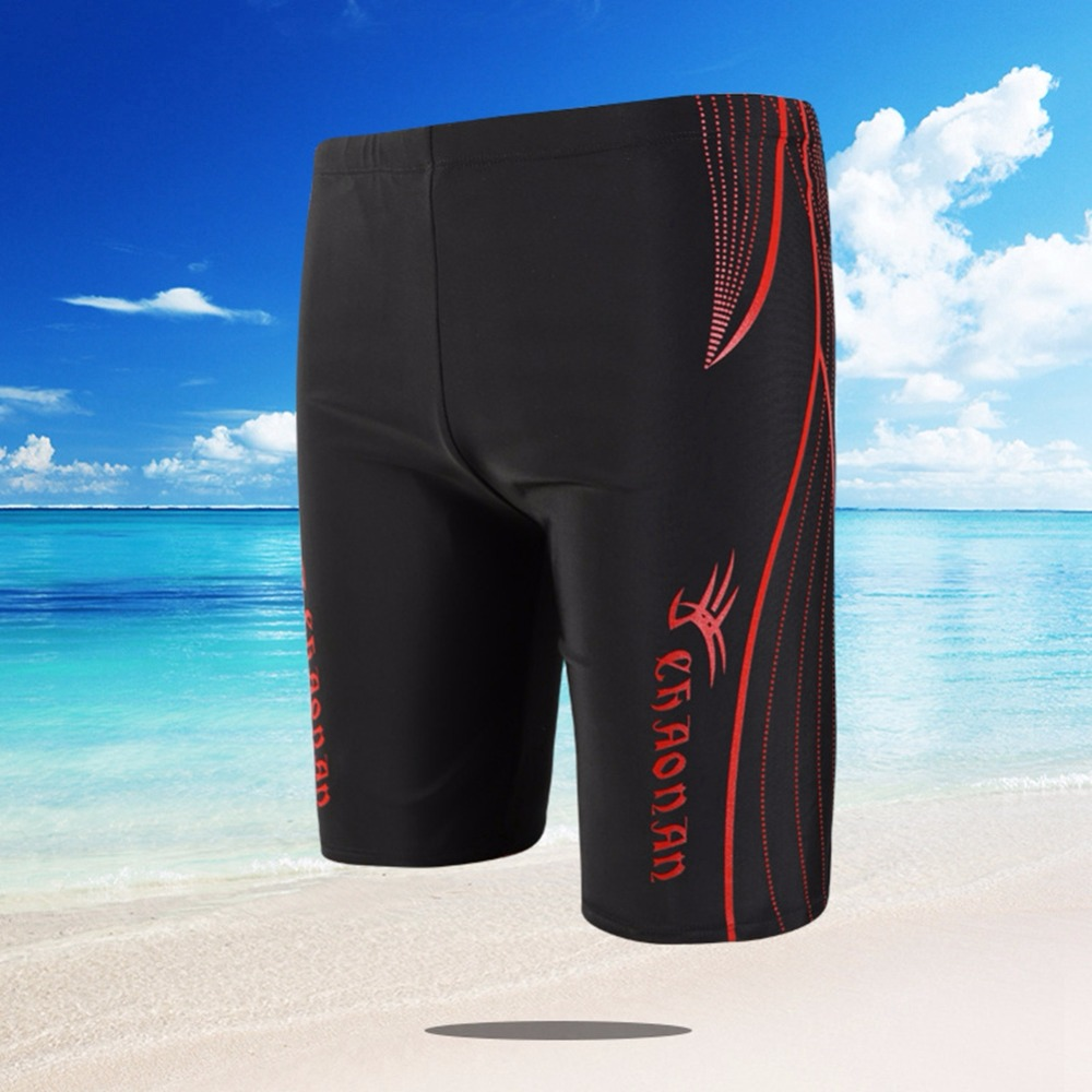 Shorts Breathable Swimsuit Pants Diving-Surfing Shark Hot Spandex Drawstring Nylon Fifth