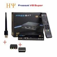 Freesat V8 Super 2pcs Wifi Adapter Optional DVB S2 Satellite Receiver Support PowerVu Biss Ccam Youtube