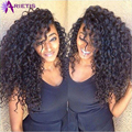 Brasileiro Cabelo Virgem Afro Kinky Curly Cabelo Preto Natural Weave 3 Bundles Extensões de Cabelo Humano Brasileiro Kinky Curly Virgem Cabelo