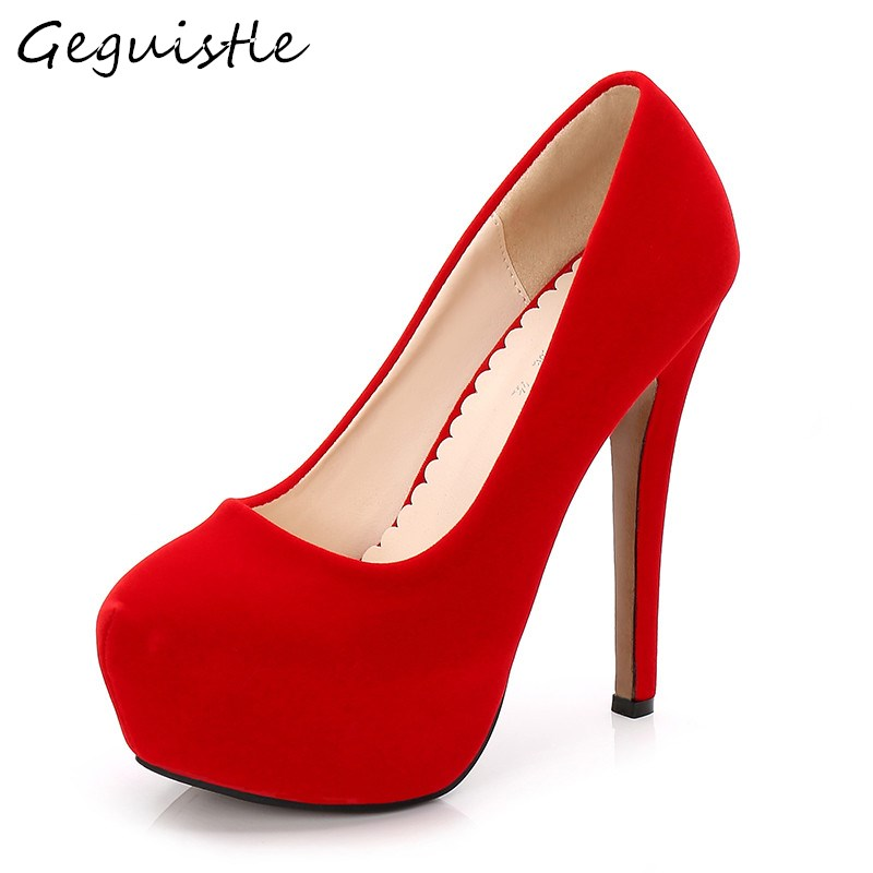 14 CM Super High Heel Shoes Women Fashion Peep Toe Thin Heel Sexy Single Shoes Elegant Large Size Pumps For EUR Size 35-46 fashion ladies shoes 2018 sexy bow thin heel 16cm high heel office shoes peep toe high heel women s pumps shoes size 34 40 yma90