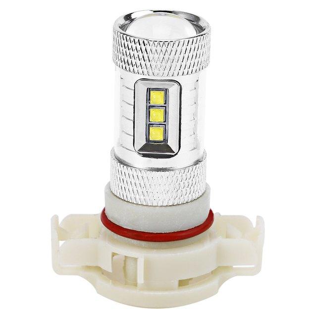 New Arrive Car LED Fog Brake Turn Signal Driving Lightings Fog Light Led Fog Lamp Bulb 1Pcs PSX24 80W with Super White Light