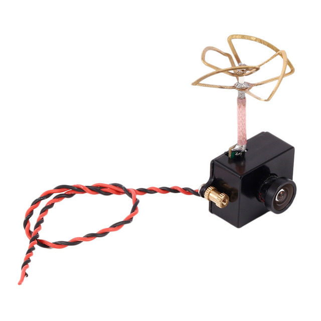 5.8G 48CH 25mW Image Transmitter With 1000TVL Camera and Antenna Micro Size Camera Built-in Transmitter RC Helicopter Drone