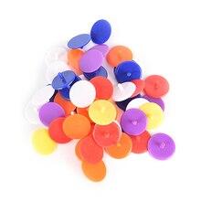 Mark-Maker Base-Accessories Golf-Ball 24mmplastic-Position-Markers 50PCS Color-Diameter