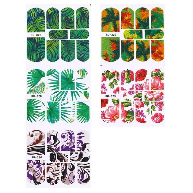 Excepcional Diseños De Uñas De Flores Tropicales Ideas - Ideas Para ...