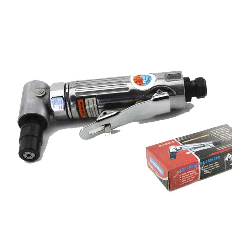 Pneumatic Milling machine 90 Dgree grinding air angle DIE Grinder machine XQ 816A