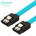 Samzhe era 3 cable de datos sata disco duro cable doble sharpnel conector sata de alta velocidad por cable 0.48 m/0.43 m/0.5 m/1 m