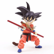 Dragon Ball Z Son Goku Garoto Criança Goku PVC Action Figure Collectible Modelo Toy(China)