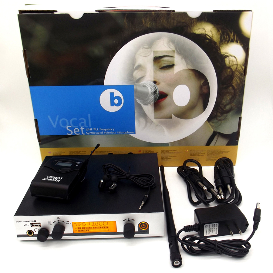 In Ear Monitor Wireless Microphone System Mic Mike EW300 IEM G3 EK300 Professional Stage Transmitter Monitoring