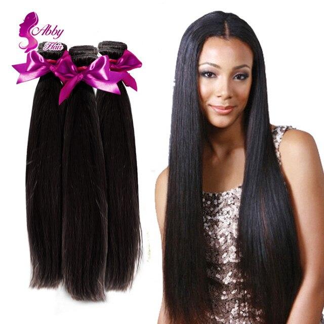 Amazing Hair Products Peruvian Virgin Hair Straight 4 Bundle Deals