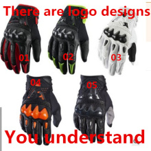 Carbon fiber protection shell Men s long refers to the motorcycle riding font b gloves b