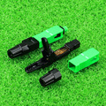 50pcs/lot Embedded FTTH Fiber Optic Quick Connector FTTH SC/APC SM Fast Connector