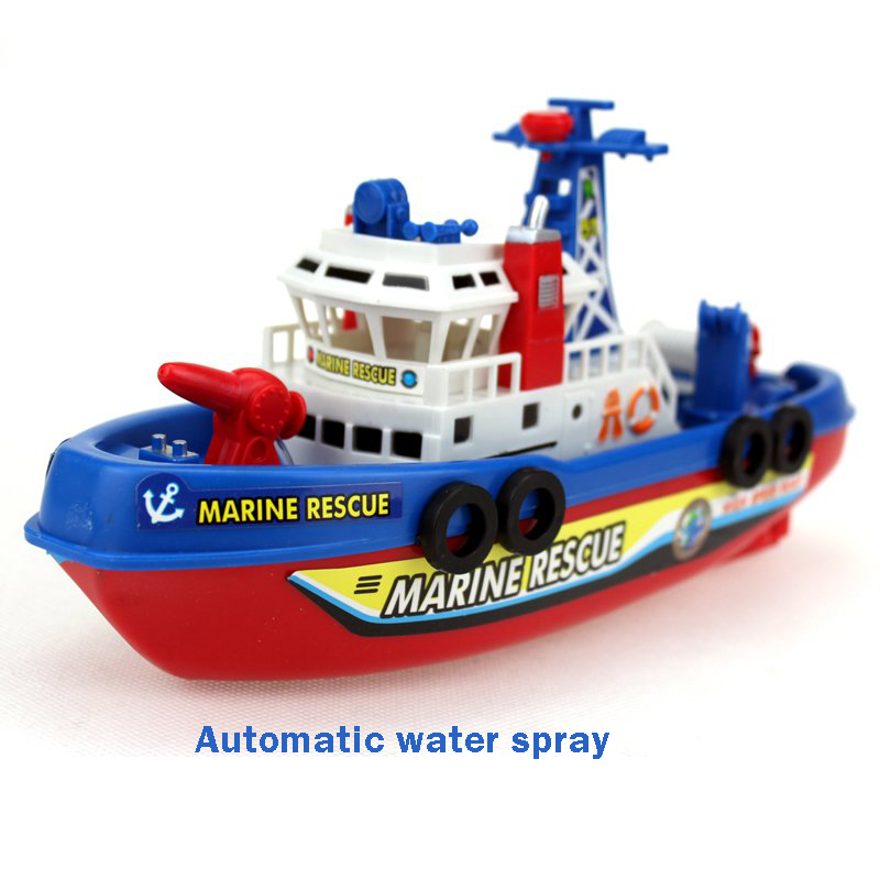 Children Electric Bath Toys Boat Model Boy Toy Water Electric Ship ...