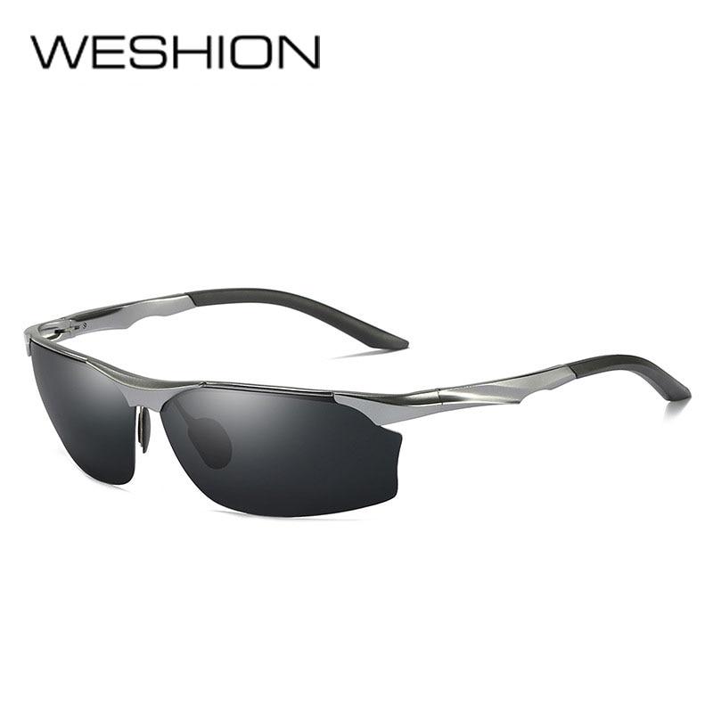 Apparel Accessories Weshion Yellow Sunglasses Men Polarized Night Vision Vintage Aluminium Magnesium Man Sun Glasses 2018 Uv400 Kinder Zonnebril And Digestion Helping