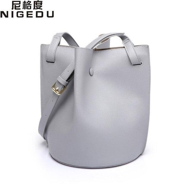 Мода Ковша сумка Высокое качество PU кожи женщин сумки на ремне бренд моды Простой женские Crossbody Сумки bolsas леди Сумки