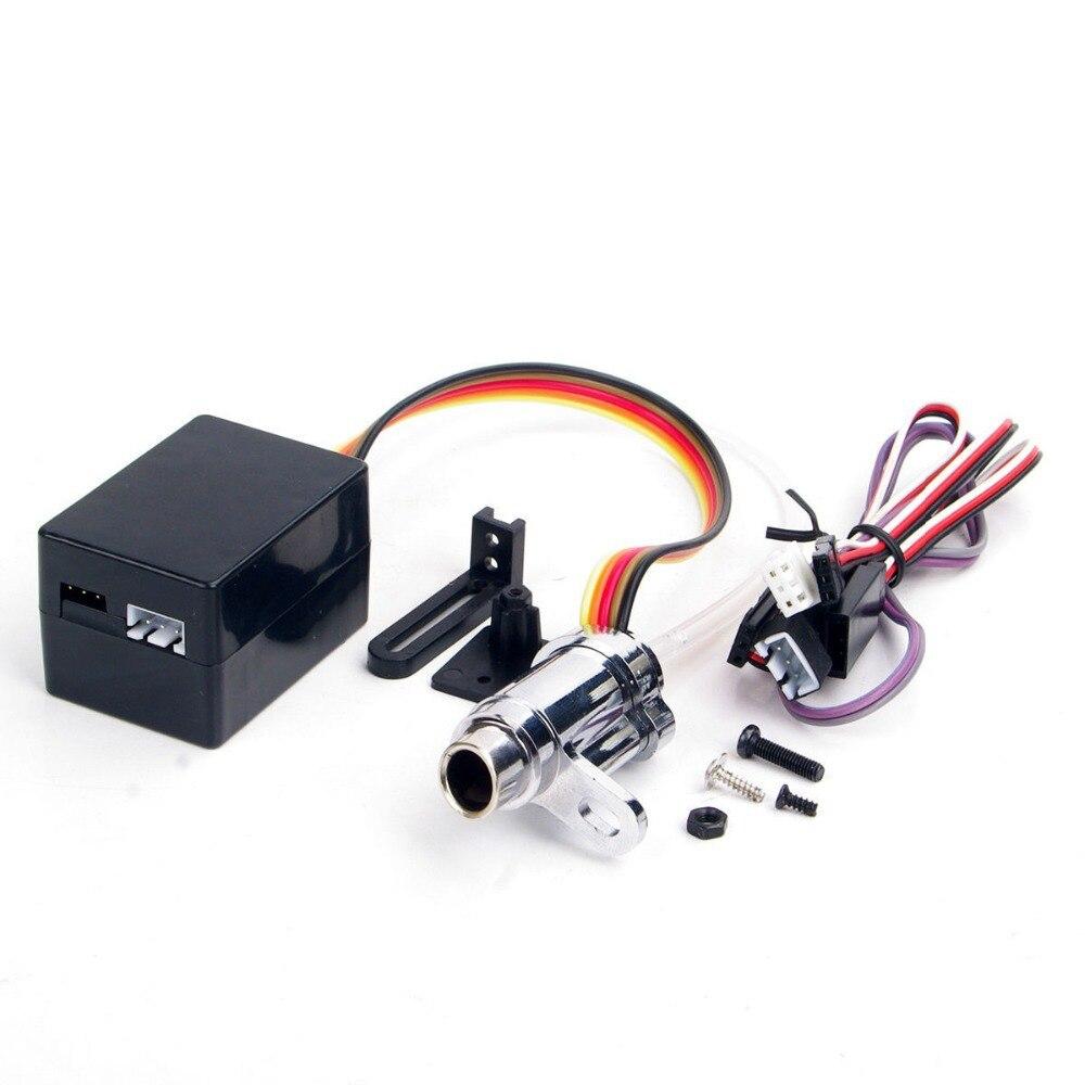 RC pièces de voiture mise à niveau électronique 1/10 Simulation fumée tuyau d'échappement pièces RC 1:10 modèle voiture accessoires