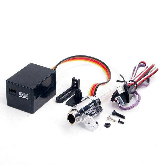 1b61aa3be4 US $23.15 7% di SCONTO Parti di Automobili del RC di Aggiornamento  Elettronico 1/10 di Simulazione Fumo di Scarico Tubo Tubo Parts RC 1:10  Modello di ...