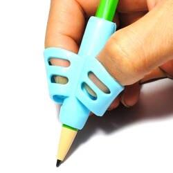 3 шт./лот новый топ силикагель детские обучения ребенка игрушки инструмент для письма инструмент держатель для ручки канцелярские товары