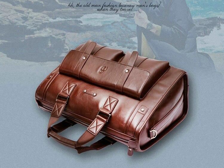 HTB10cpqSCzqK1RjSZFjq6zlCFXaW 2019 Men Leather Black Briefcase Business Handbag Messenger Bags Male Vintage Shoulder Bag Men's Large Laptop Travel Bags Hot