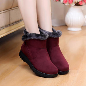 AQIX Ankle Boots Casual Platform Winter Shoes Woman