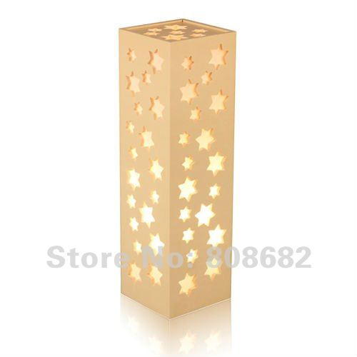 Uk Free Shipping Long Table Lamp Led Light Box Creative Star Decorative Pattern Dornment Good Quality Gift