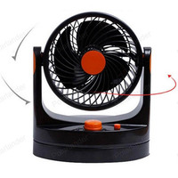 12V Portable auto fan Low Noise Vehicle Car Fan Oscillating Cooling Fan Air Conditioner