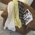 2016 плед шарф женщина шарфы пряжи шаль хлопок платки voile трубки шарф шифон обернуть женский цикл дамы мыса Скидка