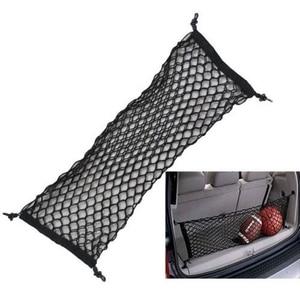 Image 3 - 1 Pcs מזוודה SUV אחסון תיק גמישות אמין רכב אביזרי 90*40 כפול שכבה אנכי מוגן אחורי דלת אחסון נטו