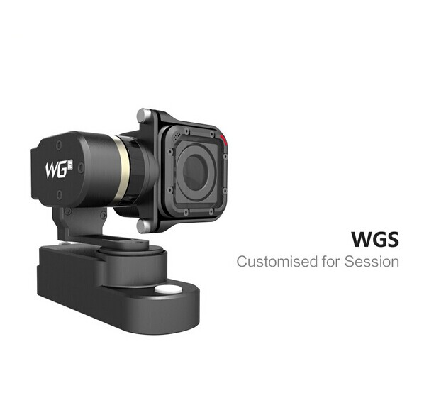 F19588 Feiyu Tech WGS FY-WGS 3-Axis Camera Gimbal Brushless Steady Stabilizer for GOPRO 5 Session GOPRO 4 Session Sport Camera free shipping feiyu tech g4 gs gimbal 3 axis brushless gimbal for sony hdr az1vr fdr x1000v as series sport auction camera