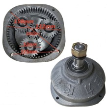 Center gear:15t . Planet gear:24t  Electric tricycle motor gearbox assembly head reducer